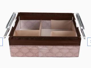 Rubbermaid Fast Track Closet Canvas Sliding Drawer Kit