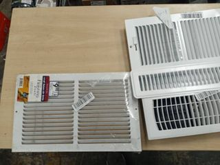 lot of Various Air Vents White