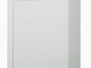 DiamondNow 24  White Wall Cabinet