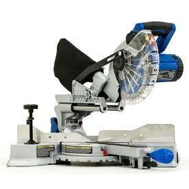 Tested does Work  Kobalt Compact 7 1 4 in 10 Amp Single Bevel Sliding laser Compound Miter Saw