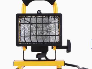 Utilitech 250 watt Halogen Portable Work light Indoor Outdoor