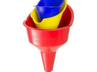 FloTool Automotive Funnels Red