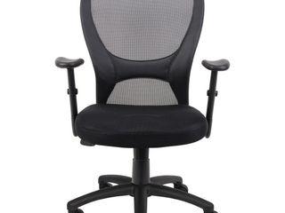 Mesh Task Chair Black   Boss