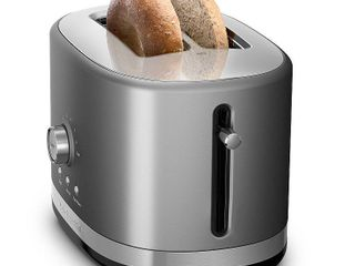 KitchenAid   KMT2116CU 2 Slice Extra Wide Slot Toaster   Contour Silver