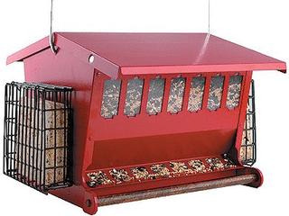 Audubon Seeds  n More Metal Hopper Bird Feeder Model 7452R