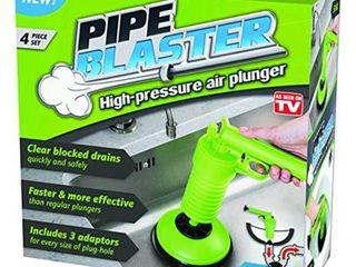 Trisales Marketing 260922 Pipe Blaster High Pressure Air Plunger