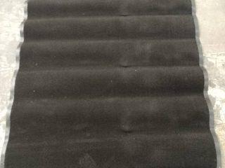 Black Area Rug 47  W x 67  l