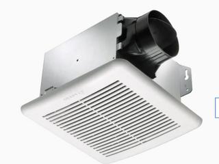 Delta Breez Greenbuilder 1 4 sone 100 cfm White Bathroom Fan Energy Star 100f