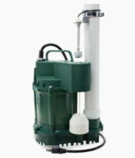 Zoeller 3 4hp 115v 80 Gpm Cast Iron Submersible Sump Pump Water lift