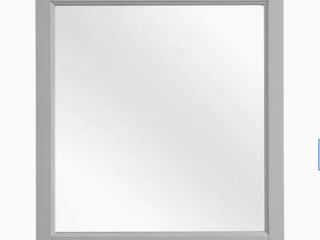 Scott living 28  light Gray Durham Mirror