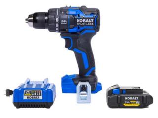 Kobalt 24v MAX Brushless Drill Driver w 24v 4Ah Battery and Charger