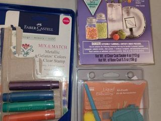 liquid Embossing  Metallic Colors for Stamps  and looking Glass Spray