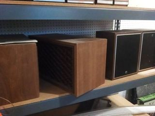 Realistic and R HiFi Stereo Speakers