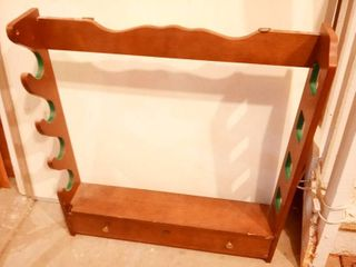 Wood Gun Rack