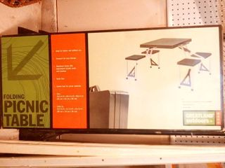 Greatland Outdoors Folding Picnic Table New in Box