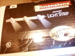 Hampton Bay Halogen light Strip lot of 3 New In Boxes