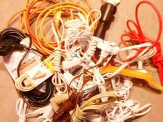 Extension Cords and a Drop light