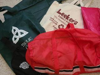 Assorted bags