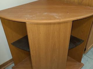 Corner Media Cabinet 29 x 35 x 23 in