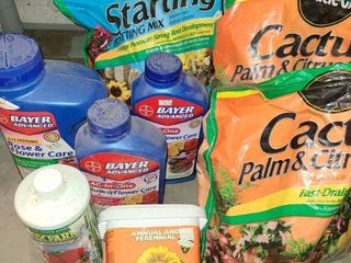 Miracle Grow and Bayer Products for Plants