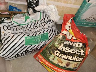 Compost and insect granules