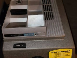 Honeywell previewer for slides