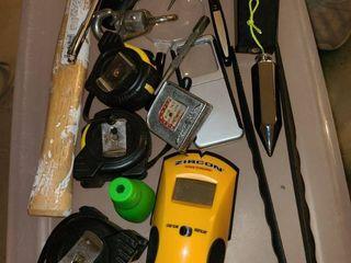 Assortment of miscellaneous tools