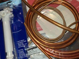 Assorted plumbing supplies