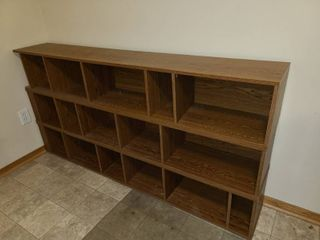 Wood Cubby Storage Can Be Used Horizontally or Vertically 36 x 72 x 12 in