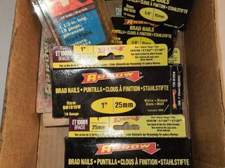 Variety of Staples and Brads