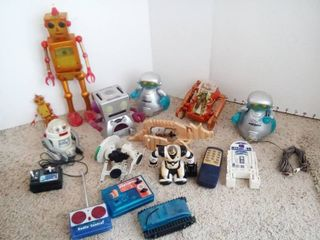 Assorted Robot Toys