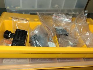 4 Storage Containers with small components