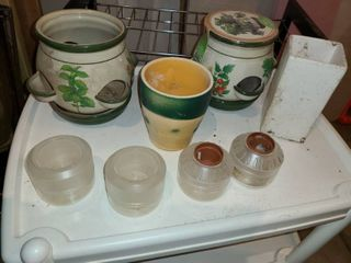 Herb Starting Kit and extra Pots