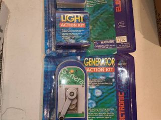 GENERATOR ACTION KIT and lIGHT ACTION KIT