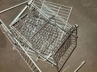 Wire Shelves and lifts