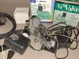 Sprinkler misting system accessories