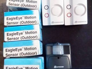 X10 Remote Controlled Chimes and Eagle Eye Motion Sensors