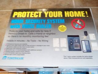 X10 Powerhouse Security System with Voice Dialer