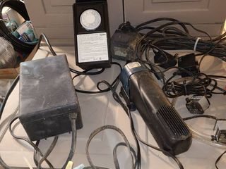 Assorted pumps and timer