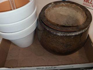 Ceramic and Terra Cotta Planters