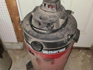 SHOP VAC  16 Gallon Wet Dry Vac  Missing Hoses