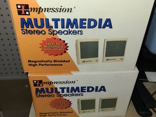 8 Boxes MUlTIMEDIA Stereo Speakers