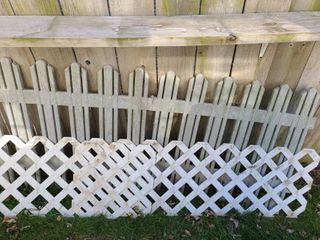 Small Fencing 32 x 71  And lattice 75 x 19