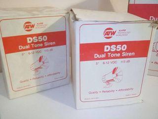 ATW 5 in Dual Tone Sirens lot of 2