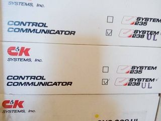 C and K System 238 Ul Control Communicators lot of 3