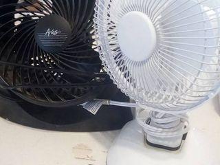 Black and White Desk Fans