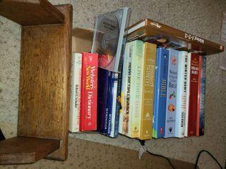 Books and small Book Shelf