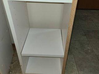 White Wood Shelf 25 x 12 x 12 in