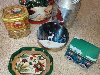 Christmas Tins