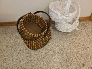 4 Wicker Baskets